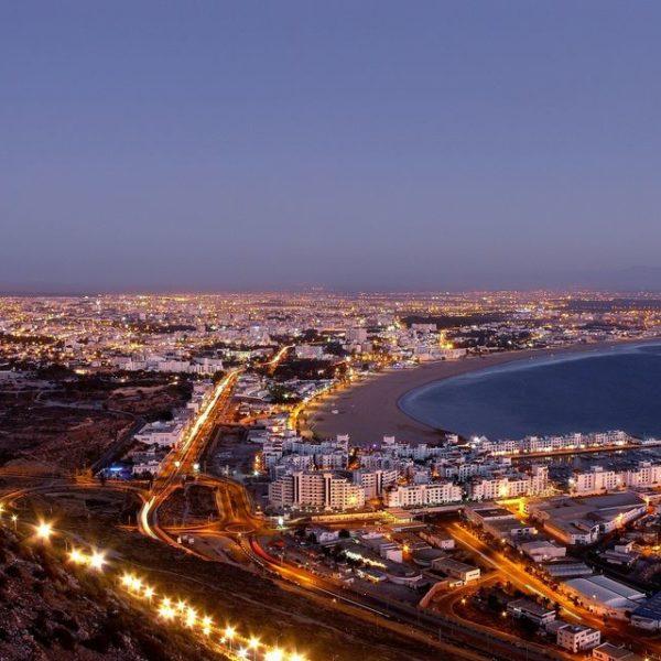 Agadir City Tour By Night