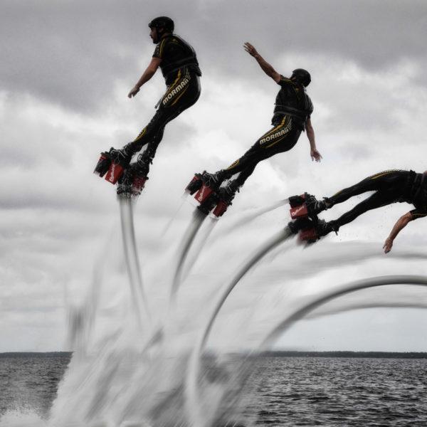 Flyboarding in Agadir