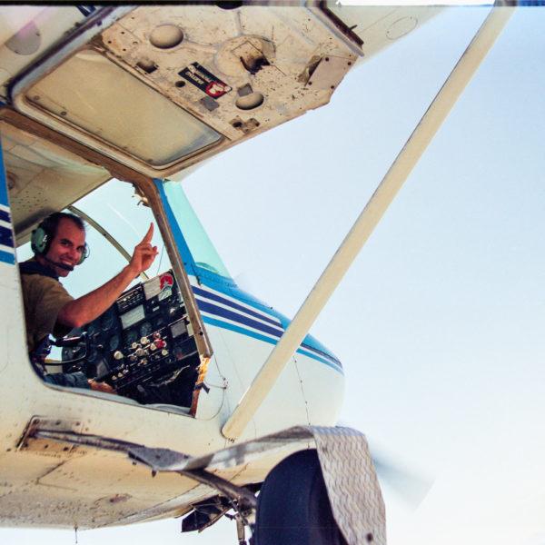 Parachuting in Agadir