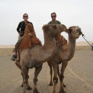 Paseo en camello por Agadir
